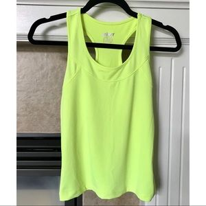 Prince Athletic Fluorescent Yellow Tank